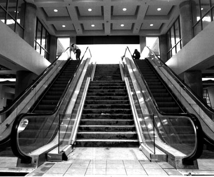 An Armchair View Of Escalators