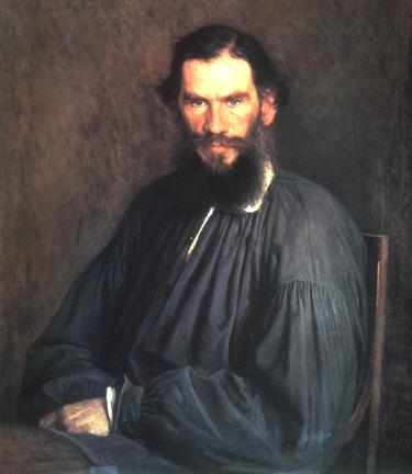 [portrait of Tolstoy]