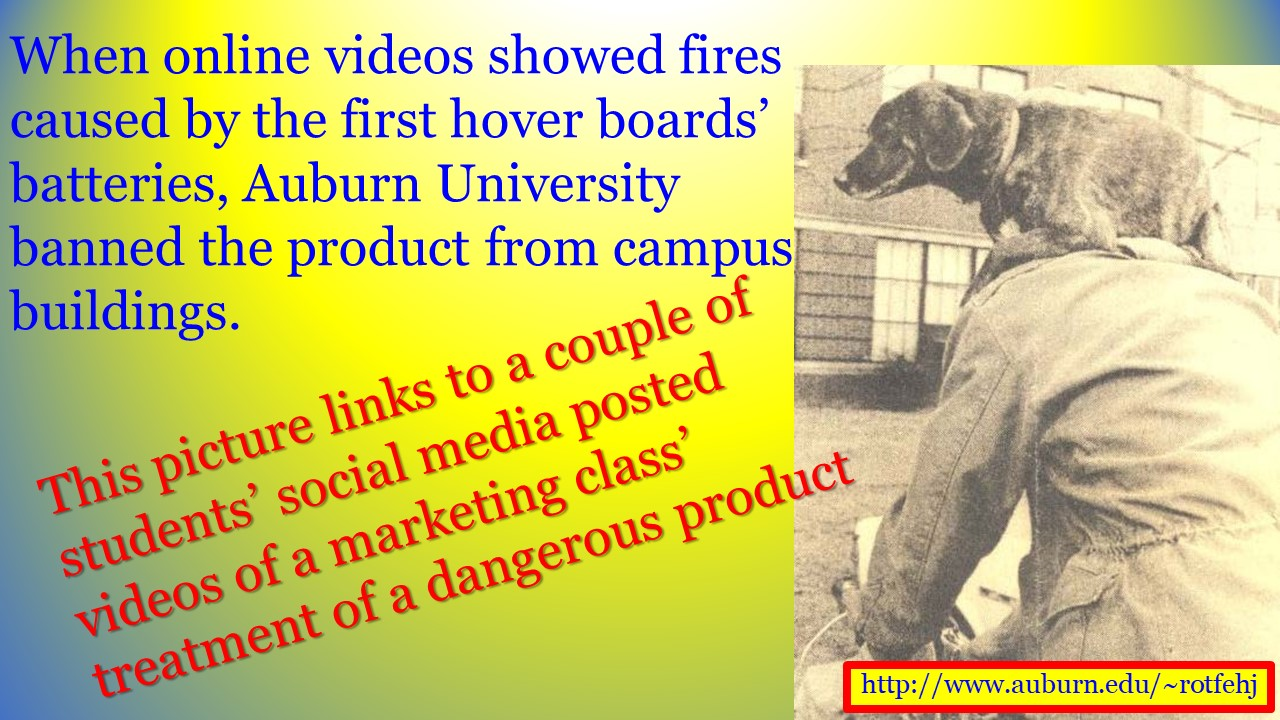 link to hoverboards in class
