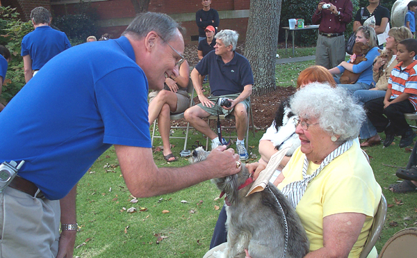 The Blessing of the Pets at AUMC